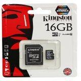 ราคา Kingston เมมโมรี่การ์ด Micro Sdhc 16 Gb Class 10 Kingston ใหม่