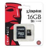 ซื้อ Kingston เมมโมรี่การ์ด Micro Sdhc 16 Gb Class 10 ออนไลน์ ถูก