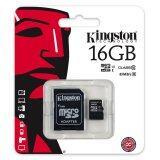 โปรโมชั่น Kingston เมมโมรี่การ์ด Sdc10G2 16Gb Sdhc Sdxc Class 10 Uhs I Micro Sd Card With Adapter ใน กรุงเทพมหานคร