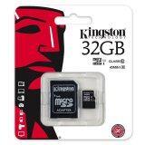 ราคา Kingston เมมโมรี่การ์ด Sdc10G2 32 Gb Sdhc Sdxc Class 10 Uhs I Micro Sd Card With Adapter เป็นต้นฉบับ