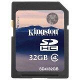 Kingston Memory Sd Card Class 4 32 Gb เป็นต้นฉบับ