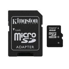 ราคา Kingston Micro Sd Class 10 16Gb With Adapter ราคาถูกที่สุด
