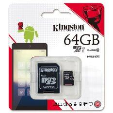 ขาย Kingston Microsd Sdxc Class10 64 Gb Kingston ผู้ค้าส่ง