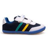 Kito รองเท้าผ้าใบเด็ก รุ่น S8615 กรม กรุงเทพมหานคร