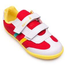 ส่วนลด สินค้า Kito รองเท้าผ้าใบเด็ก รุ่น S8615 สีแดง