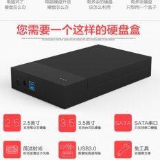 Kk Box Hdd 3 5 Hard Disk Drive Enclosure Usb 3 รุ่น Lx36 สีดำ ถูก
