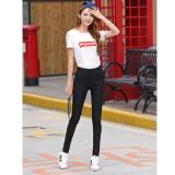 ขาย ซื้อ Kk กางเกงขายาว ผ้ายืด กระเป๋าหลัง สีดำ รุ่น R8040