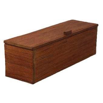 กล่องไม้สักสำหรับเก็บเครื่องมือช่าง
