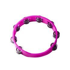 ขาย กลองฉิ่ง แทมโบรีน พลาสติก สีชมพู Tambourine Plastic Pink Unbranded Generic ใน ไทย