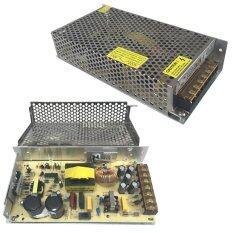 กล่องรวมไฟ CCTV (แบบรังผึ้ง) 7 ช่อง 12V 10A 120 Watt สำหรับกล้องวงจรปิด และไฟ LED ไม่ต้องใช้ อแดปเตอร์ Switching Power Supply