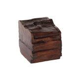 ซื้อ กล่องทิชชู่ ไม้สักเก่า Unbranded Generic