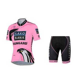 KLBIKE ชุดปั่นจักรยานลายทีม กางเกงเป้าเจล No.32
