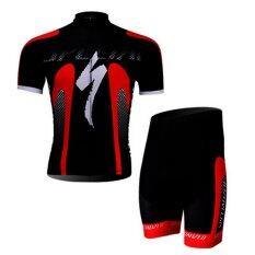 ขาย Klbike ชุดปั่นจักรยานลายทีม Specialized ดำ แดง ผู้ค้าส่ง