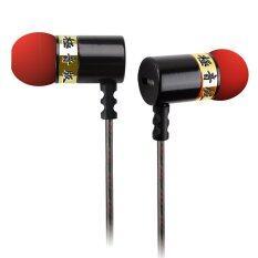 ซื้อ Knowledge Zenith หูฟัง In Ear รุ่น Dt5 รุ่นพิเศษ Super Bass High End Three Band Equalizer สีทอง Knowledge Zenith
