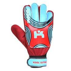 ขาย Kool Pro ถุงมือโกล์ว ฟุตบอล Football Gloves Keeper Ultima Red ออนไลน์