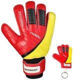 ขาย ซื้อ Kool ถุงมือ โกล์ว ฟุตบอล Football Goalkeeper Gloves Replique Germany Fingersave พร้อมพวงกุญแจ กรุงเทพมหานคร