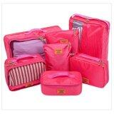 ทบทวน Mori กระเป๋าจัดระเบียบเสื้อผ้าสำหรับเดินทาง กระเป๋าจัดระเบียบ เซ็ท 7 ใบ Bag Organizer Set 7 Pcs Pink สีชมพู