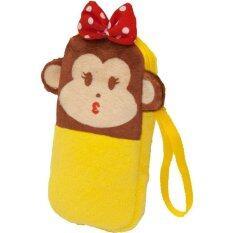 กระเป๋าดินสอ ทวินส์มังกี้ สีเหลือง.