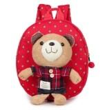 ทบทวน ที่สุด กระเป๋าเด็ก สายจูงเด็ก เป้จูง กระเป๋าเป้เด็ก ลายหมี สีแดง