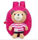 กระเป๋าเด็ก สายจูงเด็ก เป้จูง กระเป๋าเป้เด็ก ลายหมี สีชมพู ถูก