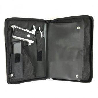 กระเป๋าเก็บปืนสั้น (แบบแม็กกาซีน) มีซับในกันกระแทก BAG GUN