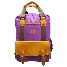 กระเป๋าเป้ แฟชั่น Z สีม่วง ใหม่ล่าสุด