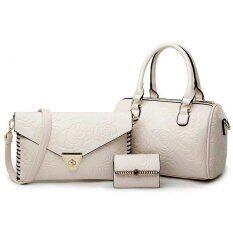 ราคา กระเป๋าถือใส่ของผู้หญิง พร้อมกระเป๋าสตางค์ และกระเป๋าสพายข้าง Rt10 Yin Yang ใหม่
