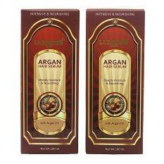 โปรโมชั่น La Bourse Argan Oil Hair Serumลาบูส เซรั่ม อาร์แกน ออยส์ บำรุงเส้นผม แพ็คคู่ ไทย