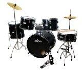 ซื้อ Landwin กลองชุด 5 ใบ Drum Set 5 Pcs 22 X16 X12Ls R H Lw 1020 สีดำ Landwin ออนไลน์