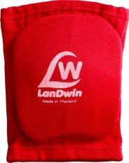 Landwin สนับเข่า มีฟองน้ำ Knee Pad W Sponge 4020 Red ถูก