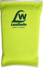 ทบทวน ที่สุด Landwin สนับเข่า มีฟองน้ำ Knee Pad W Sponge 4024 Yellow