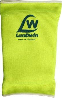 LANDWIN สนับเข่า มีฟองน้ำ Knee Pad W/Sponge 4024 - Yellow