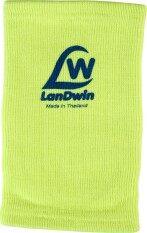ส่วนลด สินค้า Landwin สนับเข่า มีลูกฟูก Knee Pad W Cushion 4022 Yellow White