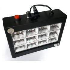 ขาย Led Room Strobe12 Led 12 หลอด สีดำ ไฟแฟลช Led 12 หลอด ปรับโหมด เล่นแบบออโต้ และ แบบตามเสียงได้ หลอดแบบ Rgb Thailand