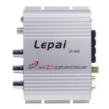 ราคา Leipai Lp 838 Silver 12V 60W Multifunction Stereo Car Audio Power Amplifier Hi Fi Mp3 Player Car Amplifier Radio Music Speaker Intl ใหม่