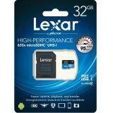 ซื้อ Lexar 32Gb 633X Micro Sdhc With Sd Adapter ใหม่