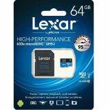 ขาย Lexar 64Gb Micro Sdhc 633X With Sd Adapter ถูก ใน กรุงเทพมหานคร
