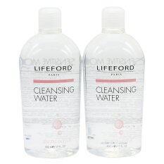ขาย Lifeford Brightening Fairing Cleansing Water 500Ml แพ็คคู่ สูตรSensitive Moisture สำหรับผิวแพ้ง่าย แทบสีชมพู ราคาถูกที่สุด