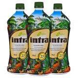 ราคา Lifestyles Intra อินทรา น้ำผลไม้เพื่อสุขภาพ 3 ขวด เป็นต้นฉบับ