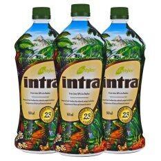 โปรโมชั่น Lifestyles Intra อินทรา น้ำผลไม้เพื่อสุขภาพ 3 ขวด ใน ไทย