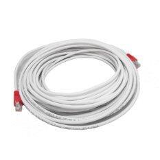 โปรโมชั่น Link Cable Cat6 สายแลนเข้าหัวสำเร็จรูป ยาว 5 เมตร White ถูก