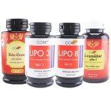 ซื้อ Lipo Core ไลโป Betacurve Lipo3 Lipo8 Lcarnitine กระปุกละ 50 แคปซูล Core ถูก