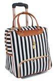 ขาย Girly Bags กระเป๋าเดินทางใบเล็ก กระเป๋าเดินทางล้อลาก กระเป๋าล้อลาก Travel Bag ลายทาง รุ่น Lt 003 สีขาว ดำ เป็นต้นฉบับ