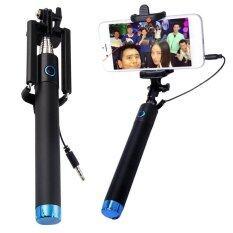 ขาย Living Be Pro ไม้เซลฟี่ Selfie ไม่ใช้รีโมต ปุ่มกดที่ด้าม สำหรับ Iphone 5 Iphone6 Samsung ยาว 78 ซม สีน้ำเงิน Living เป็นต้นฉบับ