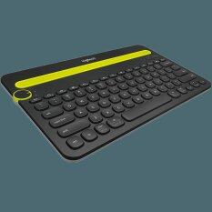 Logitech Bluetooth Multi-Device Keyboard K480 แป้นพิมพ์สกรีน TH/EN (Black)