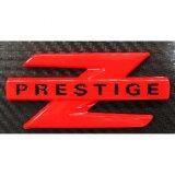 Logoโลโก้z PerstigeแดงAll Newความยาว7 7 2ซม Red 84 Racing ถูก