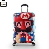 โปรโมชั่น Luggage Cover Size L ผ้าคลุมกระเป๋าลายมาริโอ้ สำหรับกระเป๋าเดินทางขนาด 28 Longroad ใหม่ล่าสุด