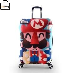โปรโมชั่น Luggage Cover Size L ผ้าคลุมกระเป๋าลายมาริโอ้ สำหรับกระเป๋าเดินทางขนาด 28 กรุงเทพมหานคร