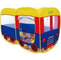 ซื้อ Lookmee Shop เต็นท์บ้านเด็กรถบัส ถูก ใน ไทย