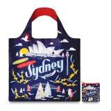 ราคา Loqi Shopping Bags Urban Sydney กระเป๋าผ้า รุ่น เออร์เบิน ซิดนีย์ ใบใหญ่ 1 ใบ ใบเล็ก 1 ใบ